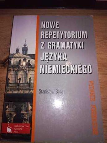 """""""Nowe repetytorium z gramatyki języka niemieckiego"""" Stanisław Bęza"""