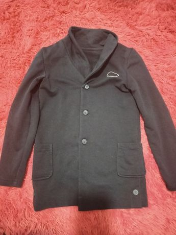Трикотажный кофта- пиджак на мальчика