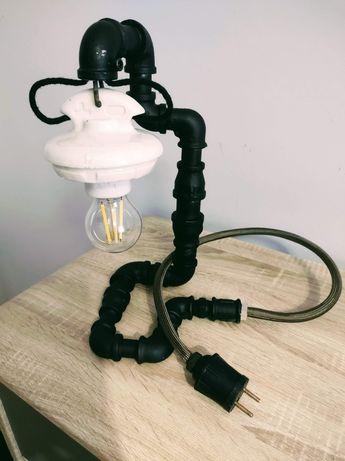 Lampka w stylu loft z hydrauliki