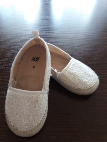 Buciki H&M dla dziewczynki roz 23