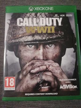 Gra Call of Duty WWII xbox one