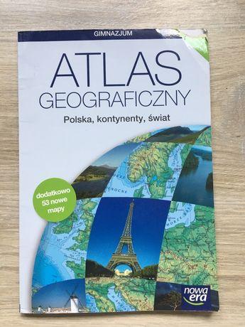 Atlas geograficzny z materiałami - Nowa Era