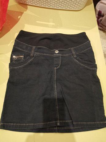 Spódnica ciążowa jeansowa rozmiar M