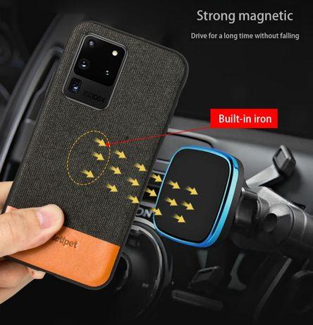 Тканевый Магнитный чехол для Samsung Galaxy s20