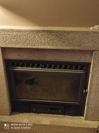 Fogão de sala com ventiladores
