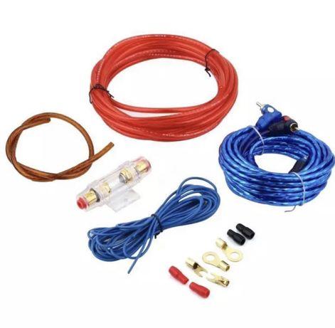 Kit de cabos amplificador/ subwoofer
