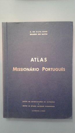 Livro Atlas Missionário Português - 1964