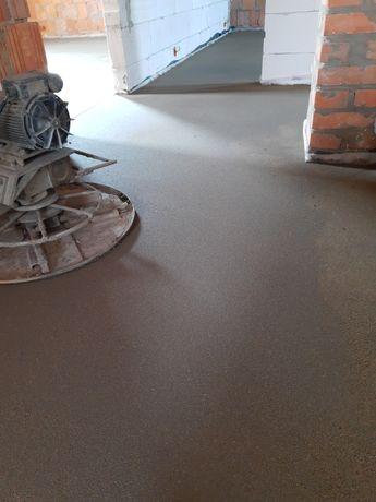 Wylewki maszynowe posadzki betonowe