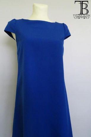 Sukienka Łezka w kolorze Kobaltowym 36 rozmiar S
