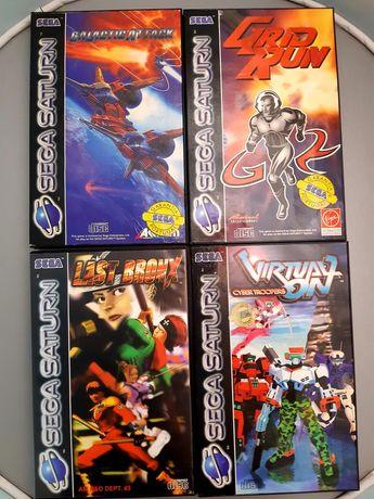 Jogos Sega Saturn: Galactic Attack, Grid Run, Last Bronx e Virtual On
