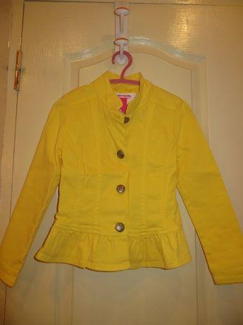 курточка, пиджак джинсовый для девочки