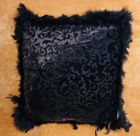 Ozdobne piękne poduszki z naturalnymi piórami x 2 dekoracje