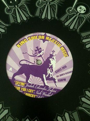 J.E. Tafari, Nish Wadada, Colah Colah – Crying vinyl dub King Shiloh