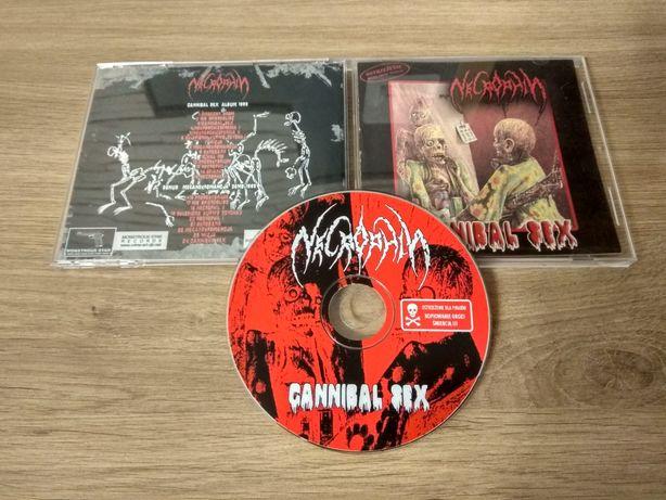 Necrophil - Cannibal Sex - Płyta CD