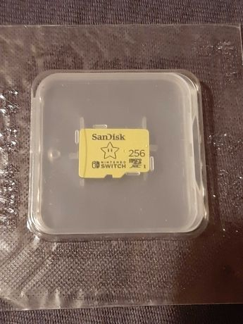 Karta micro sd Sandisk 256gb, nowa w opakowaniu.