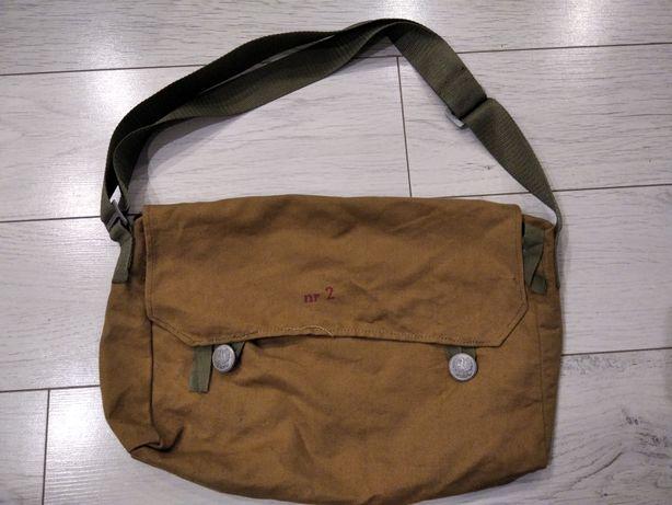 Wojskowa torba na wyposażenie chlebak.