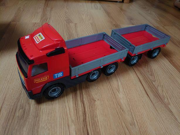 Wader ciężarówka z przyczepą