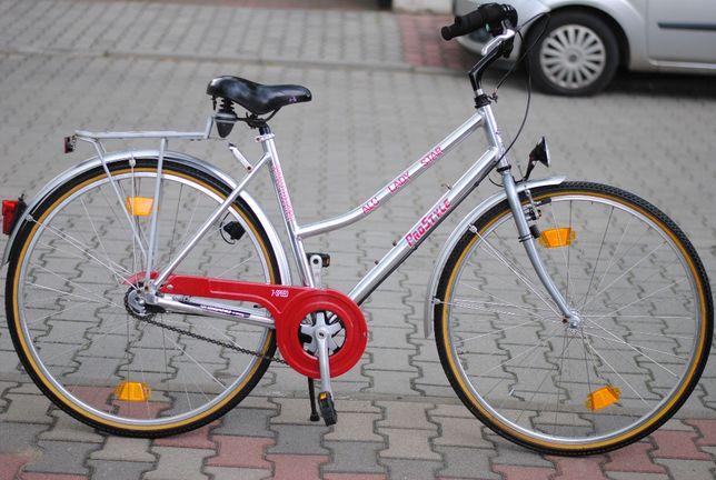 Miejski damksi rower Pro Style Aluminiowy, 7 biegów, koła 28'' ideał