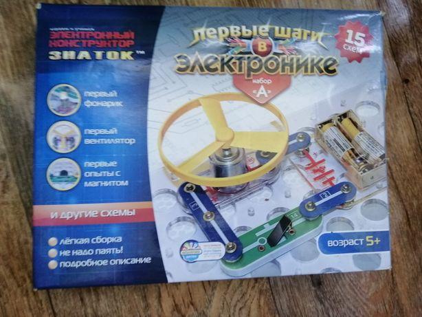 Електронний конструктор Znatok Перші кроки в електроніці