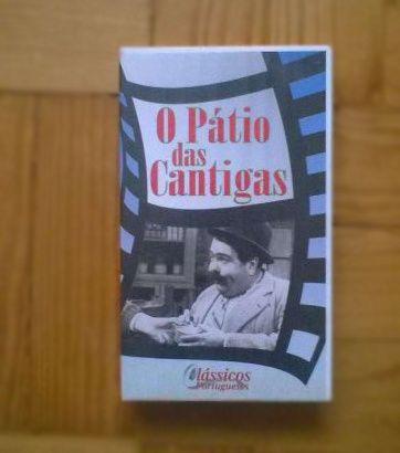 """O Pátio das cantigas"" e outros VHS"