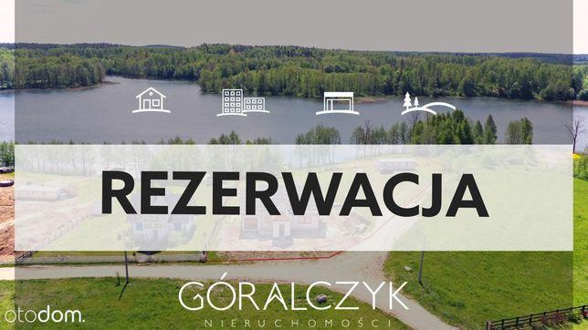 Dom z własną linią brzegową Jeziora Bielskie.