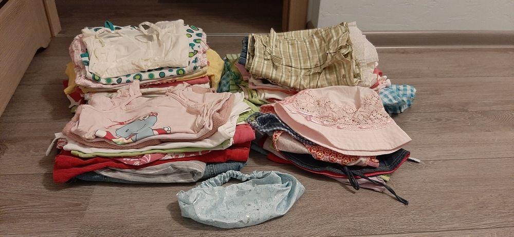 Zestaw ubrań lato 92-104 dziewczynka Żory - image 1