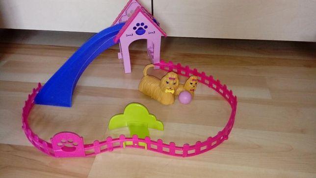 Barbie plac zabawa dla piesków interaktywny
