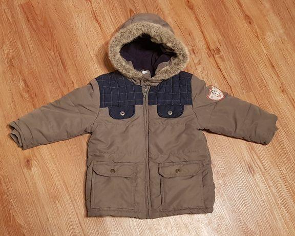 ciepła kurtka na zimę r. 92 C&A wysyłka 1 zł