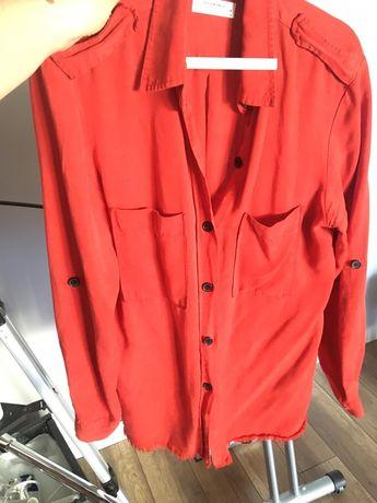 Koszula Zara czerwona L