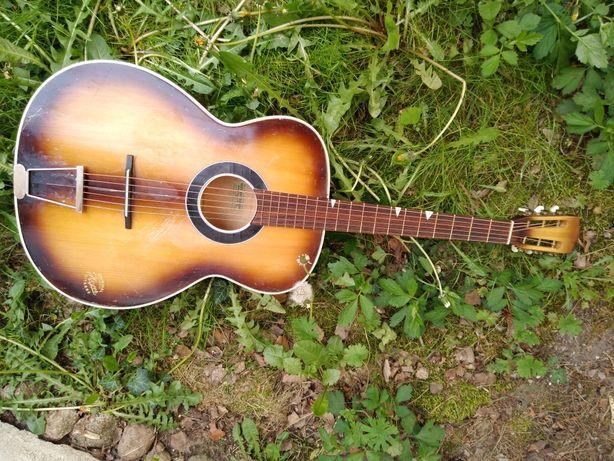 Rarytas Arnold Hoyer  gitara akustyczna lutnicza vintage lata 60-te !!