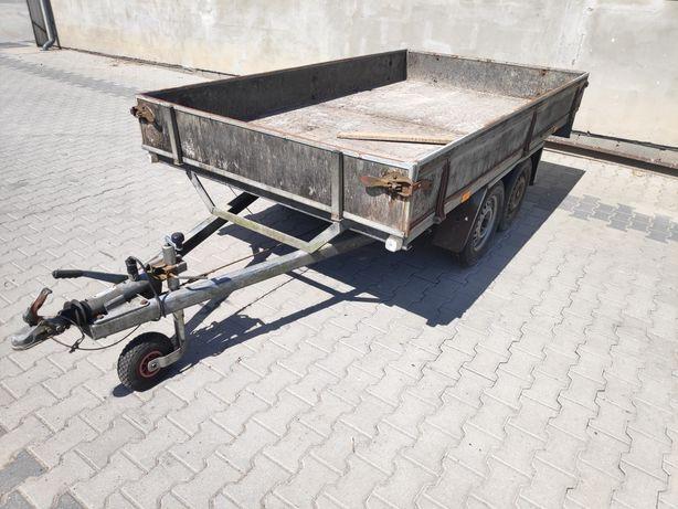 Przyczepa przyczepka samochodowa dwuosiowa DMC 1300kg Kat B brenderup