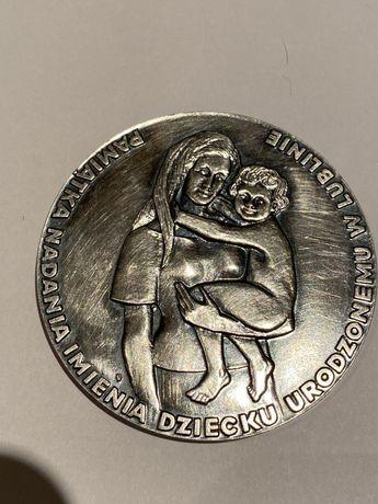 Medal Pamiątka Nadania Imienia 1975. Mennica Państwowa