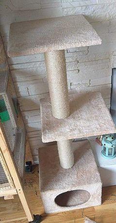 Drapak dla kota beżowy