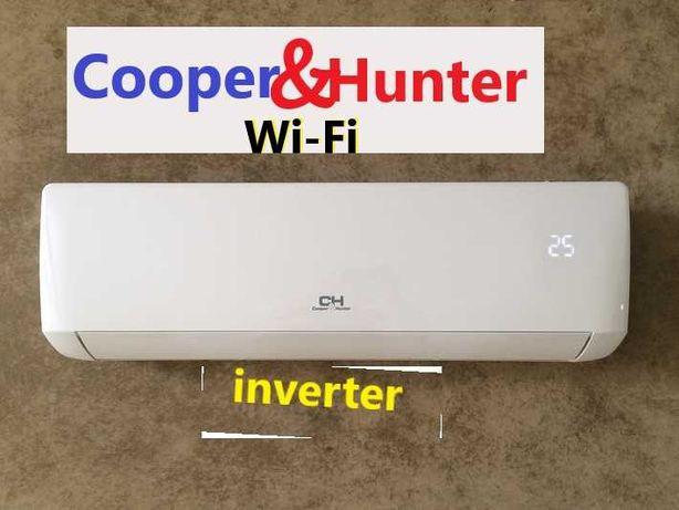 Распродажа . Кондиционеры Cooper&Hunter , Wi- Fi . inverter , Монтаж.