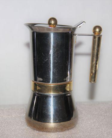 Гейзерная кофеварка из Европы