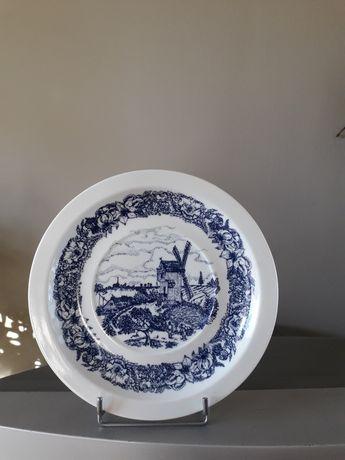 Wawel porcelana scenka rodzajowa talerz. PRL
