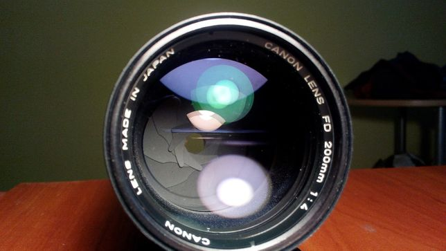 Canon FD 200mm 1:4 1979