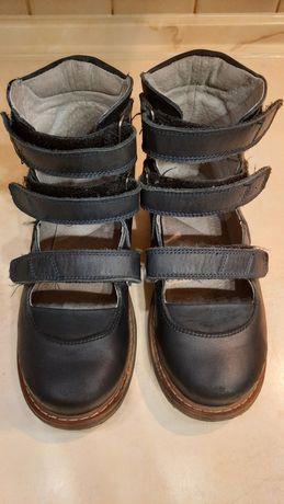 Детские ортопедические туфли каблук Томаса на девочку 20 см