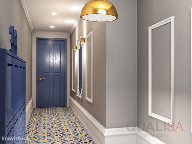 Apartamento T1+1 novo com logradouro no centro histórico ...
