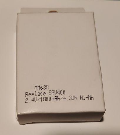 Bateria 2.4v 1800 mAh Ni-MH Tomy SRV400 Intercomunicador de vídeo bebé