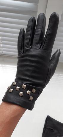 Кожаные перчатки.Новые