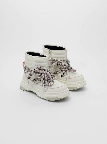 Ботинки сапоги zara