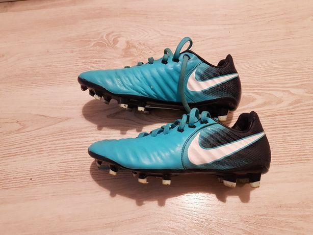 Nike tiempo skóra buty do pilki korki 37.5