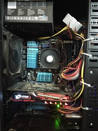 Системний блок MSI GeForce GTX 1050 TI/AMD FX 8300/ОЗУ-16GB