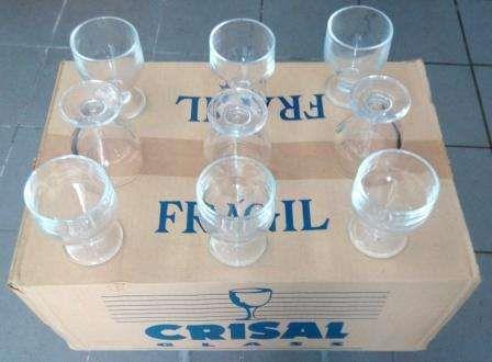"""Copos/Taças Vinho/Poncha """"CRISAL GLASS"""""""