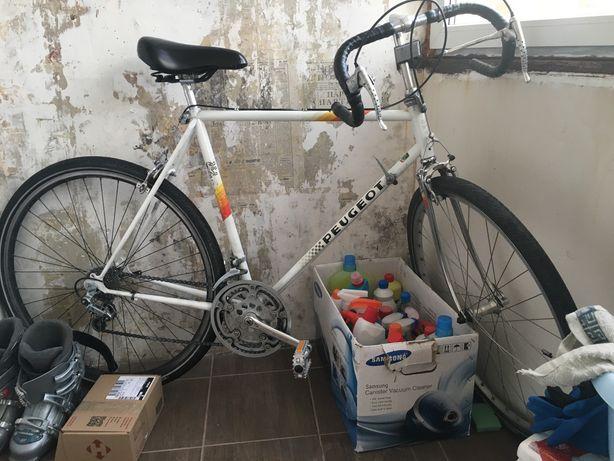Шоссейный велосипед Peugeot Carbolite раритет