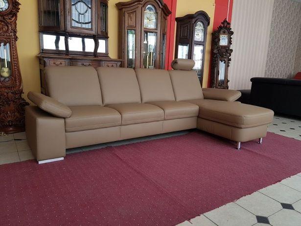 Новый кожаный диван кожаный угловой диван шкіряний диван Германия