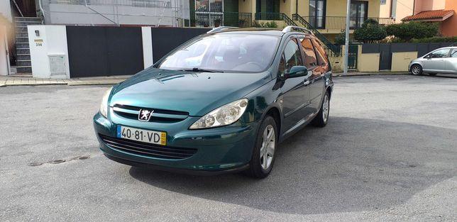 Peugeot 307 SW 7 Lugares 2.0 HDI Sport Com 7 Bancos Individuais