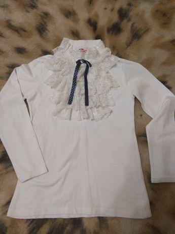 Гольф школьный водолазка блуза для девочки