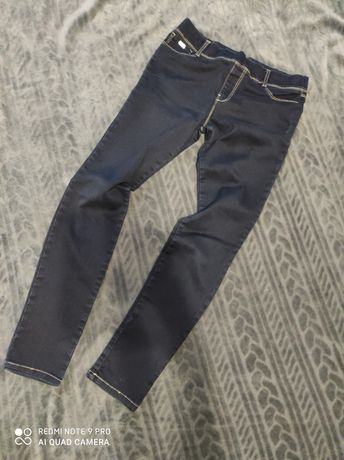 Spodnie rurki elastyczne gumki 40 L Stradivarius granat NOWE
